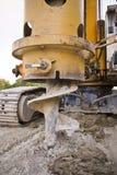 De apparatuur van de bouw Stock Foto's