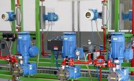De apparatuur van de fabriek Royalty-vrije Stock Afbeelding