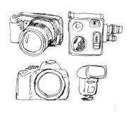 De apparatuur van de foto Royalty-vrije Stock Afbeeldingen