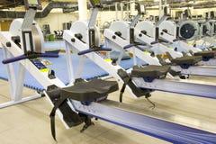 De apparatuur van de gymnastiek Stock Foto's