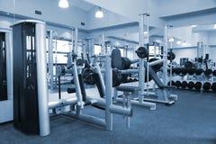 De apparatuur van de gymnastiek ruimte Stock Foto's