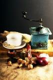 De apparatuur van de keuken Stock Afbeeldingen