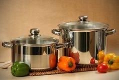 De apparatuur van de keuken royalty-vrije stock afbeeldingen