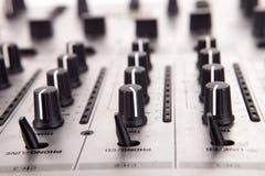 De apparatuur van de muziek stock afbeeldingen