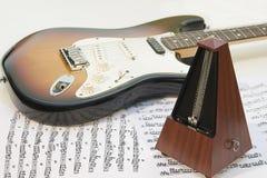De apparatuur van de muziek Stock Fotografie