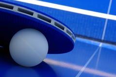 De apparatuur van de pingpong Stock Foto's