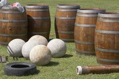 De Apparatuur van de Spelen van het hoogland Stock Afbeeldingen