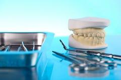 De apparatuur van de tandarts Royalty-vrije Stock Foto's