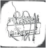 De apparatuur van DJ Stock Afbeeldingen