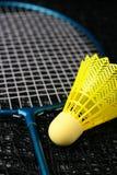 De apparatuur van het badminton Stock Foto