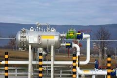 De apparatuur van het gas stock foto's