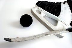 De Apparatuur van het hockey Stock Afbeeldingen