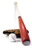 De apparatuur van het honkbal Stock Afbeelding