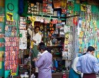 De apparatuur van het huis winkel in Yangon, Myanmar Stock Foto's