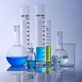 De apparatuur van het laboratorium Stock Foto