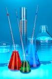 De apparatuur van het laboratorium Royalty-vrije Stock Foto's
