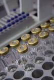 De apparatuur van het laboratorium Stock Afbeelding