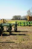 De apparatuur van het landbouwbedrijf Royalty-vrije Stock Fotografie
