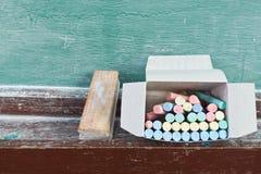 De apparatuur van het onderwijs stock foto's