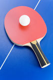 De apparatuur van het pingpong stock foto