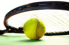 De apparatuur van het tennis Stock Afbeelding