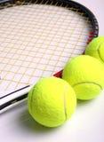 De apparatuur van het tennis stock fotografie
