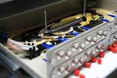 De apparatuur van telecommunicatie Royalty-vrije Stock Foto's