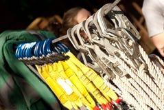 De apparatuur van Zipline Royalty-vrije Stock Fotografie