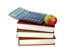 De appel van boeken Stock Afbeeldingen