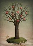 De appel van de boom vector illustratie