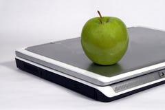De appel van de computer en van gree Royalty-vrije Stock Afbeeldingen