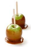De appel van de karamel royalty-vrije stock foto's