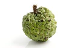 De appel van de vla die op witte achtergrond wordt geïsoleerdn Royalty-vrije Stock Afbeelding