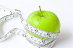 De appel van het dieet Royalty-vrije Stock Foto