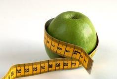 De appel van het dieet Stock Foto's