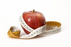 De appel van het dieet. Royalty-vrije Stock Afbeelding