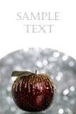 De appel van Kerstmis Stock Afbeelding