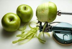 De appelen van de schil Stock Afbeelding