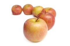 De appelen van Fuji Royalty-vrije Stock Afbeeldingen