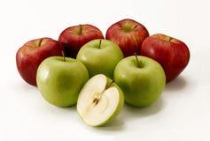 De appelen van het paar. Stock Foto's