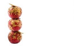 De appelen van Kerstmis Royalty-vrije Stock Foto