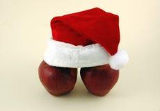 De Appelen van Kerstmis. royalty-vrije stock afbeelding