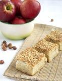 De appeltaart van de honing Royalty-vrije Stock Foto's
