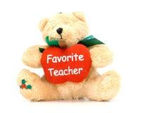 De Appreciatie van de leraar Stock Foto