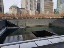 9/11 de ar fresco bonito memorável de New York fotos de stock