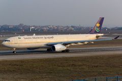 A330 de Arabia Saudita Imagen de archivo