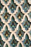 De Arabische Achtergrond van de Tegel Royalty-vrije Stock Fotografie