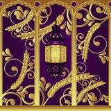 De Arabische Lamp van de Luxe van de Stijl Royalty-vrije Stock Afbeelding