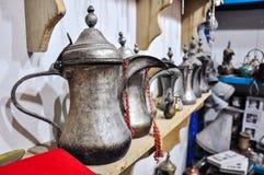 De Arabische Pot van de Koffie stock afbeelding