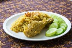 De Arabische rijst van het Halalvoedsel Royalty-vrije Stock Fotografie